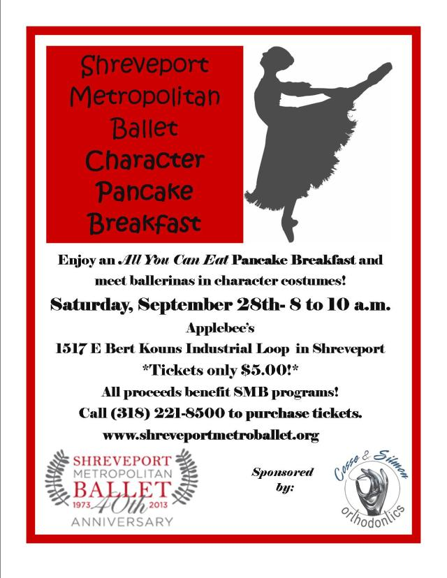 SMB Pancake Breakfast Flyer
