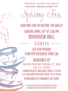 Spring Tea for FB
